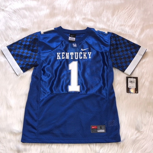 lowest price 95695 0a7cf Boys Nike University of Kentucky Football Jersey NWT